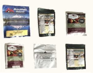 Freeze Dried Emergency Meals Review