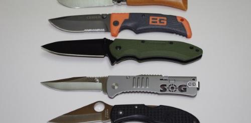 Folding Survival Knife