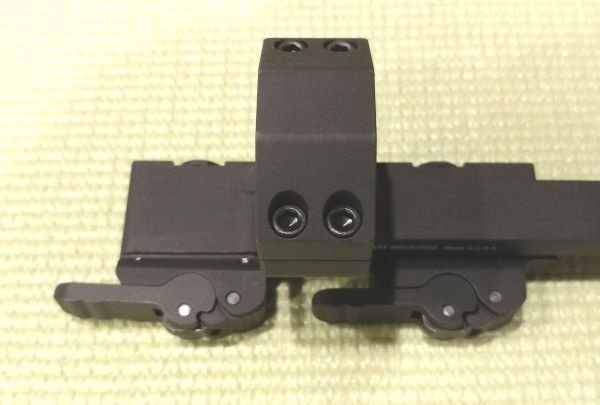 Scope Mount Locking Leaver