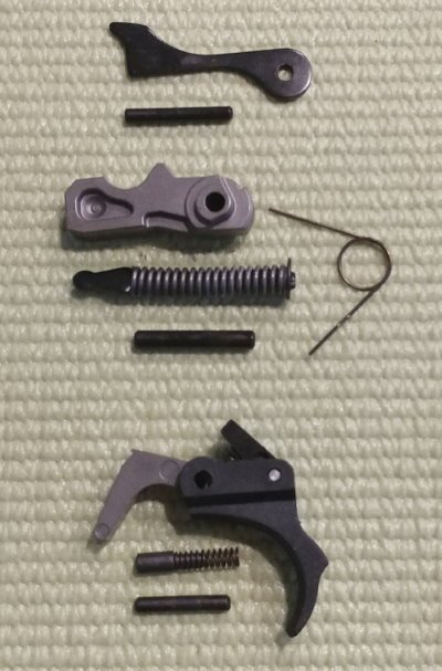 10/22 Build Suppressed Survival Rifle Trigger Parts