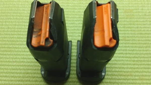 Before and After Glock Mag