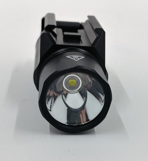 SlideRail XWL Tactical Weaponlight front view